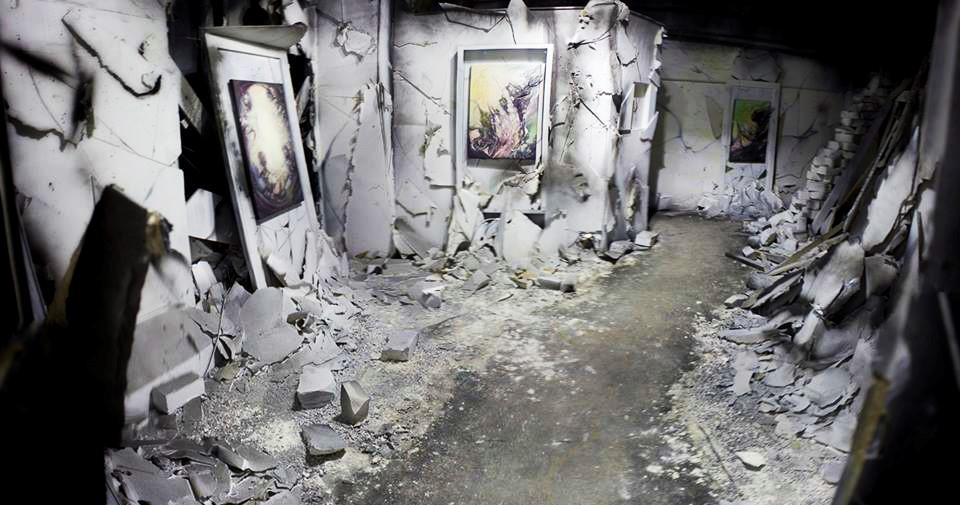 Gerbos Mad City Exhibition OZM Gallery