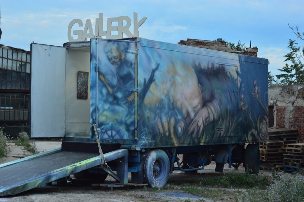Gerbos Mad City Exhibition Truck Gallery