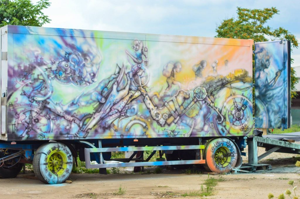 Gerbos Mad City Street Art Graffiti Vehicles