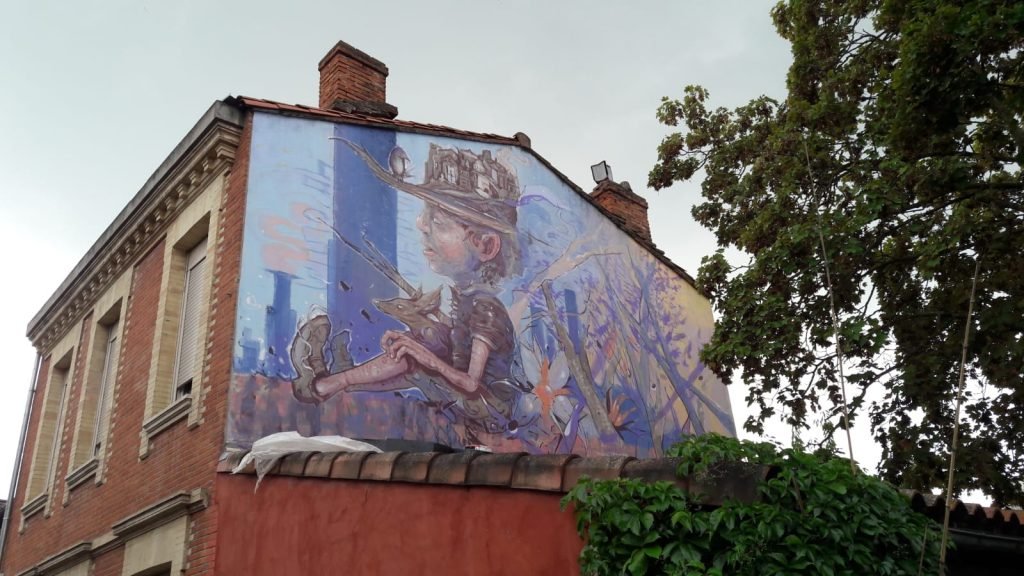 Gerbos Mad City - Mural