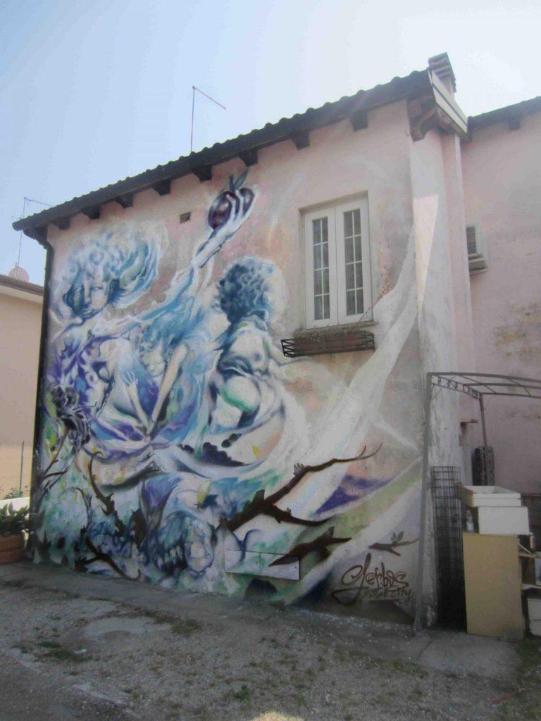 mural ángeles