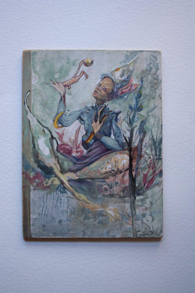Little Soldier.Acrilic on wood (1)