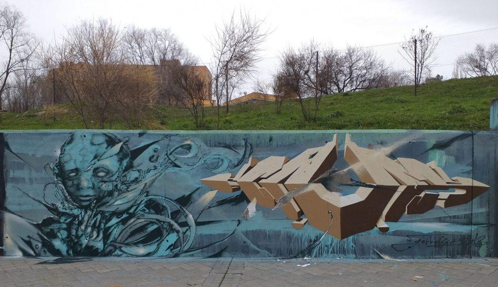 dms+gerbos moratalaz wall spot